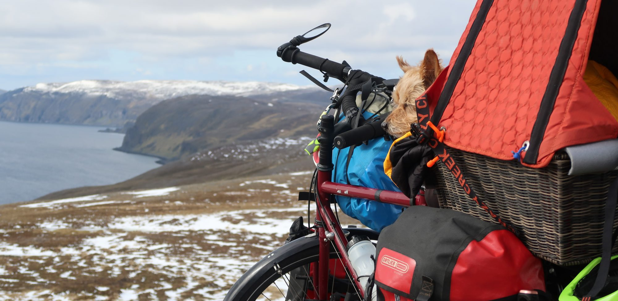 Murph n' Jac's Cracking Arctic to Med Bicycle Tour 2019